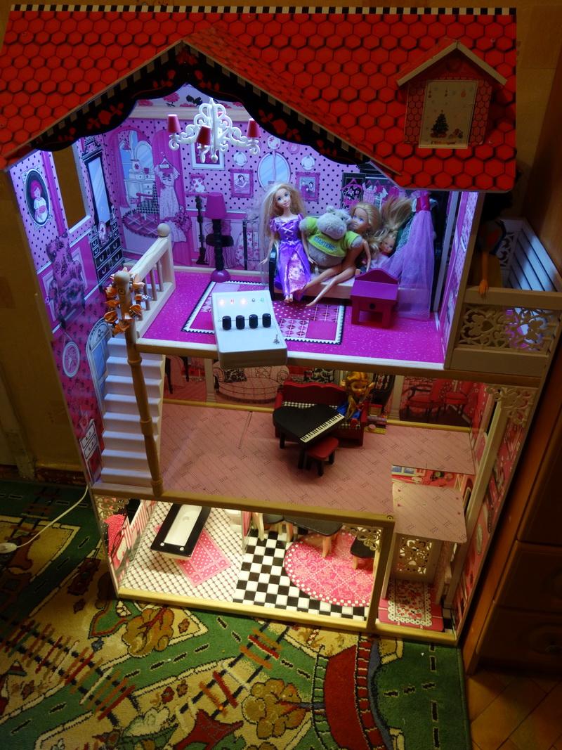 Кукольные домик своими руками для барби 91